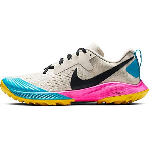 Nike Air Zoom Terra Kiger 5 Women's Running Shoe LT Orewood BRN/Black-Pink Blast 8.5