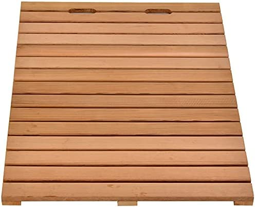 Inventory cleanup Our shop most popular selling sale U D Bathroom Board Luxury Non-Slip Wooden Sturdy Thickened Wate