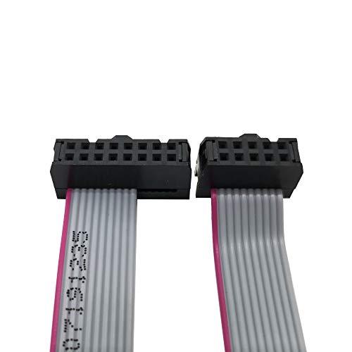 Eurorack Flachband-Stromkabel, 10 auf 16 Pin, 2,54 mm Abstand, 25 cm, 5 Stück