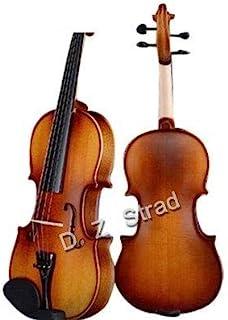 D Z Strad Violin Model 100 with case, bow, shoulder rest, and rosin (4/4 - Full Size)