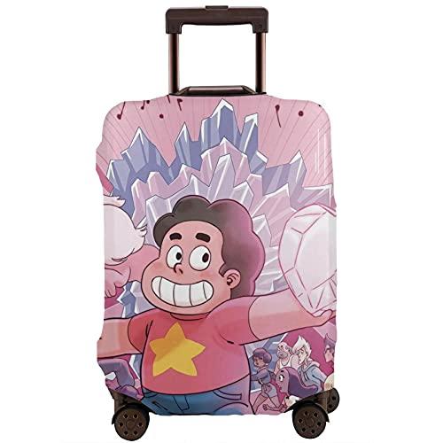 Estuche protector de maleta de Steven Universo Spinel, lavable, diseño de impresión 3D, 4 tamaños para la mayoría de equipaje bolsa protectora cremallera