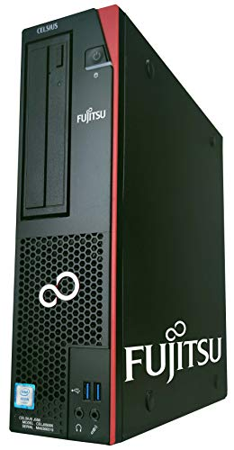 富士通 Celsius J550/ワークステーションPC/XEON E3-1225 V5/メモリ:16GB/新品:SSD256GB /DVD(マルチ)/Office付き/Windows10(整備済み品)
