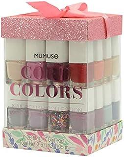Mumuso Set DE 14 Barnices - Pink Glitter