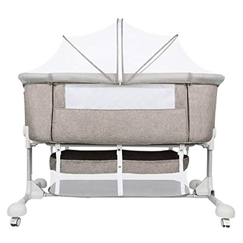 Review Of Bedside Sleeper Bed Side Sleeping Crib Folding Bedside Cot Playpen Next to Me Cribs Newbor...