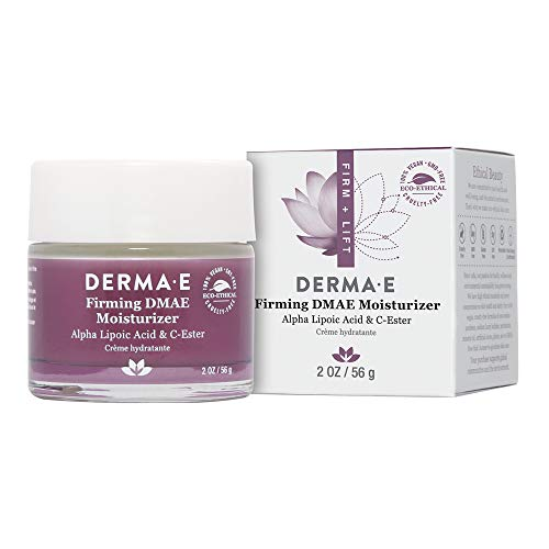 DERMA E Firming DMAE Moisturizer Alpha Lipoic Acid & C-Ester, 2 oz – Cream face moisturizer Clinically Proven to Improve Firmness, Hydration & Elasticity
