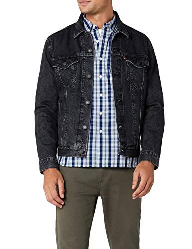 Levi\'s The Trucker Jacket, Giacca in Jeans Uomo, Nero (Fegin 0305), XX-Large