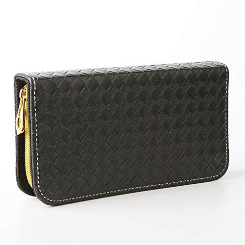 Black Grid Fashion Scissors Kit Ciseaux à cheveux Sac Ciseaux à cheveux Sac de rangement