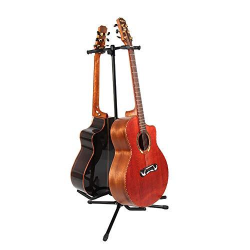 Yamyannie Soportes para Guitarras Construcción Robusta Marcos de Base Ajustable de la...