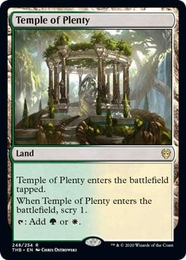 Magic: The Gathering - Temple of Plenty - Theros Beyond Death