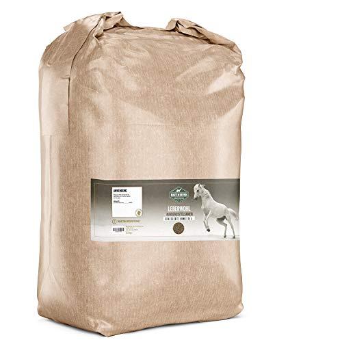 Martenbrown® Mariendistelsamen zur Leberentgiftung & Stoffwechsel Kur bei Pferden, Hunden & Katzen - ganze Mariendistel Samen ohne Zusatzstoffe - 100% Naturprodukt - 2,5kg