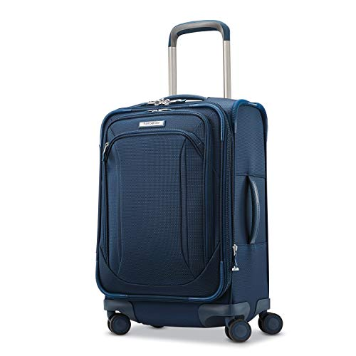 Samsonite Lineate Softside Expandable Luggage with Spinner Wheels, Evening Teal, Carry-On 20-Inch