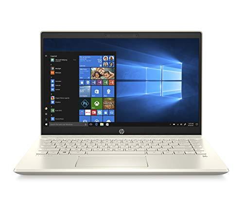 HP-PC Pavilion 14-ce2014nl Notebook, Intel Core i5-8265U, RAM 8 GB, SSD 512 GB, Grafica Intel UHD 620, Windows 10 Home, Schermo 14  FHD Antiriflesso, Lettore Impronte Digitali, Lettore Micro SD, Oro