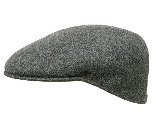 Kangol Homme Casquette plate Wool 504 gris