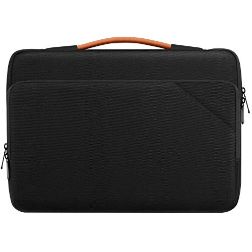 MoKo Laptop Carrying Sleeve Bag, Protective Accessory Case Fits with Acer HP Dell Chromebook 14, ThinkPad X1 14', ThinkPad P14s 14', ZenBook Flip 14, Surface Book 15', MacBook Pro 16' 2019