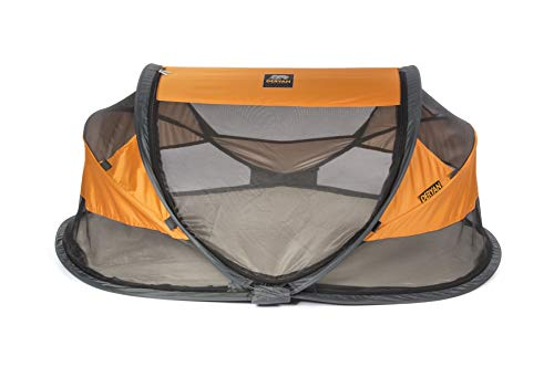 Deryan Travel Cot Baby Luxe Orange Travel Cot Baby Luxe Orange, orange