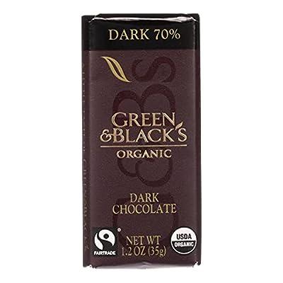Impulse Bar Dark Chocolate Organic (20 Bars) 1.20 Ounces