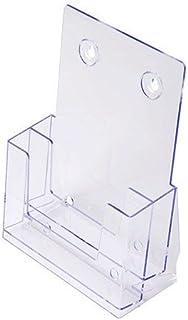 Porta depliant DIN A5 tre livelli Men/ù da tavolo porta depliant in Acrilico