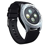 Reloj conectado, Smartwatch Port SIM/TF(Micro SD), Transmisor Bluetooth, Cámara y Táctil Inteligente, Fitness y Compatible con los smartphones y tablets de todas las marcas.