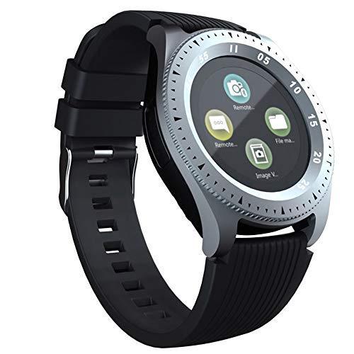 Smartwatch, SIM/TF (Micro SD), Bluetooth-Sender, Kamera & Touchscreen, Fitness, kompatibel mit Smartphones & Tablets aller Marken.