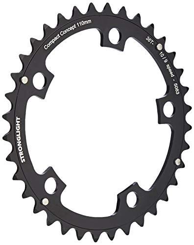 Stronglight 5-Arm/110PCD - Plato para Bicicletas, Color Negro, Talla 52 T