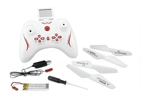 efaso Kamera Outdoor Quadcopter L6039 - 2,4 GHz, 4-Kanal hochauflösender 2 MP HD Kamera und Speicherkarte , sehr robust 2 Geschindigkeiten