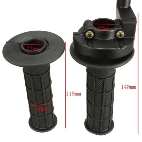 Dirtbike Gasgriff Set für 22mm Lenker 125cc Dirt Bike Pit Bike Enduro Cross Roller ATV Quad NEU