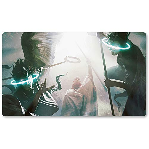 Luminarch-Ascension - Brettspiel MTG Playmat Tischmatte Spiele Größe 60x35cm Mousepad Spielmatte für Yugioh Pokemon Magic The Gathering