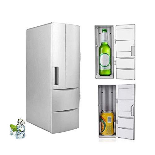 Mini Refrigerator, Portable Mini Fridge Electric Cooler and Warmer, Multifunctional Drink Cooler Travel Fridge Freezer with LED Lights For Bedroom/Office/School/Car etc