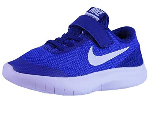 Nike Kids Flex Experience RN 7 (PS) Hyper Royal WHT DEEP Royal BLU Size 2