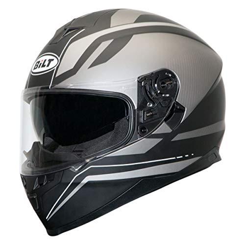 Bilt Force Ten Helmet - XL - Matte Gunmetal