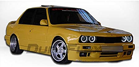 1988-1991 BMW 3-Series 2DR E30 Duraflex M-Tech Kit - Includes M-Tech Front Bumper (105044), M-Tech Rear Bumper (105047), M-Tech Sideskirts (105046) and M-Tech Door Caps (105048). - Duraflex Body Kits