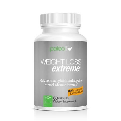 Weight Loss Extreme + Zimax By Paleo Life 60 Capsules, 30 Days Supply by Paleo Life
