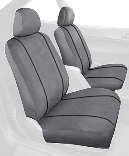 Saddleman Custom Made Front/Rear Bucket Seat Covers - MicroSuede...