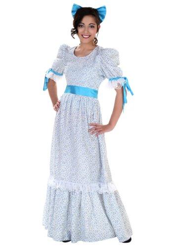 Adult Wendy Costume Peter Pan Wendy Nightgown Costume Medium Blue