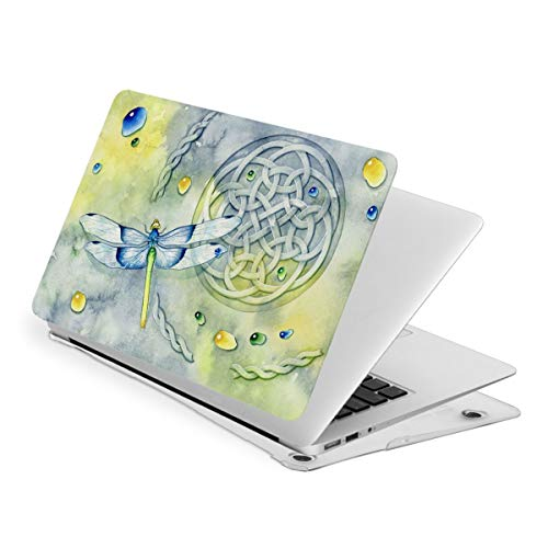Watercolor Dragonfly MacBook New Air 13 inch Case (A1932 & A2179) Laptop Cover Hard Shell Protective Case