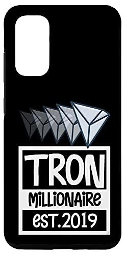 Galaxy S20 Tron Millionaire Case, BTC Crypto Cool TRX Coin Blockchain Case