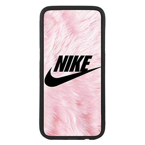 Custodia cover per Apple iPhone 5c Logo Nike simula peli Logo TPU bordo nero