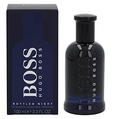 Hugo Boss Boss Bottled Night Eau de Toilette, Uomo, 100 ml