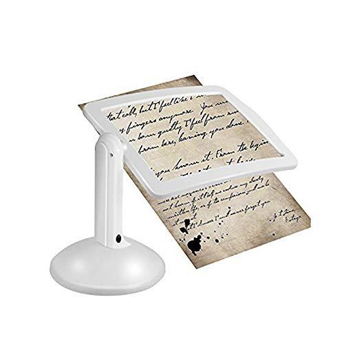 Lámpara de mesa Equipo de artesanía 3X Lupa Lámpara de mesa Manos libres Lupa Luces de escritorio Lupa para Padres Lampe Regalo