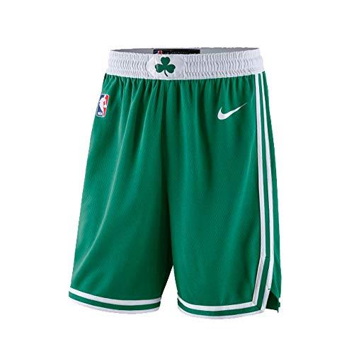 Nike BOS M NK SWGMN Short Road 18 Herren-Shorts, Grün (Clover/White/White)