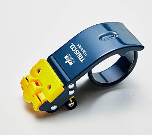 TRUSCO(トラスコ) テープカッター スチールタイプ セーフティカバー付 最大テープ幅50mm TEX-266A