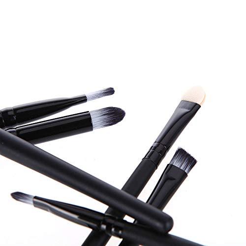 MoreBeauty 6PCS Pinceaux De Maquillage Kit De Pinceaux Cosmétiques pour Les Yeux Brosse à Fard à Paupières Crayon De Maquillage Nez Barbouiller