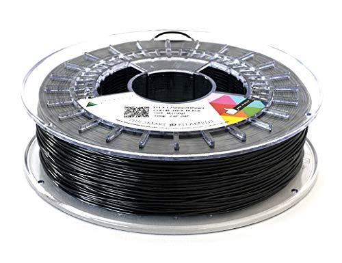 Smarfil FLEX, 1.75 mm, True Black, 330g Filamento para Impresión 3D de Smart Materials 3D
