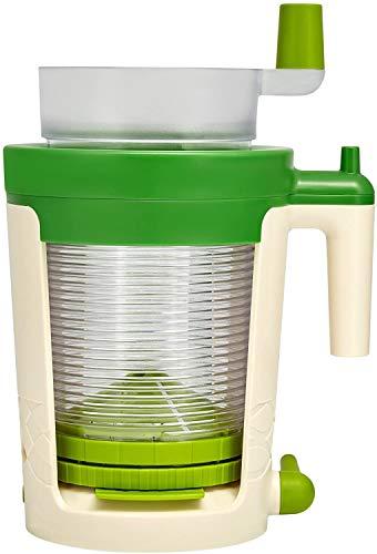 Betty Bossi 25092 Großer Spiral-Schneider aus Kunststoff, Farbe: grün, Maße: 18x 14,5x 26cm