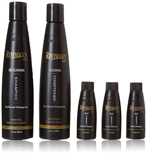 Revivogen Serum, Shampoo and Conditioner Value Pack by Roomidea