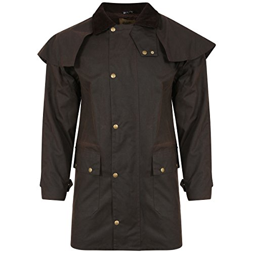Ben Nevis Short Stockmans Country Wax - Chaqueta Unisex