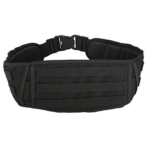 Dioche Cinturón Táctico, Cinturón Acolchado de Cinturón de Nailon Ligero de Batalla Militar Deber Correa Acolchada para el Sistema de Molle