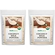 Healthworks Coconut Milk Powder (32 Ounces / 2 Pound) (2 x 1 Pound Bags) | Certified Organic | All-Natural, Creamy, Dairy-Free, Soy-Free, Paleo Diet, Vegan & Non-GMO