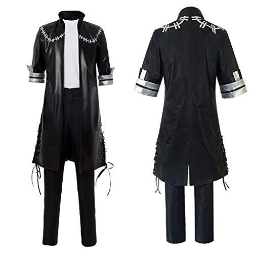 Brands My Hero Academia Dabi Cosplay Costume Outfit Black Jacket (Männer,M)