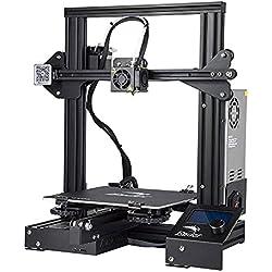 Creality Stampante 3D Ender 3, Alluminio Fai da te Completamente Open Source con Funzione di Stampa del Curriculum, Dimensioni di Stampa 220x220x250mm